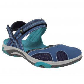 Lady Hayworth Sandal Blue   Enamel