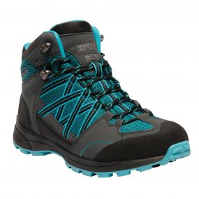 Women's Samaris II Mid Hiking Boots Azure Blue Briar