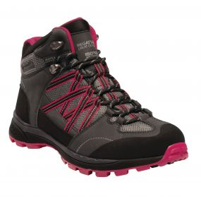Women's Samaris II Mid Hiking Boots Briar Dark Cerise