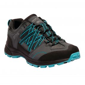 Women's Samaris II Low Hiking Shoes Briar Azure Blue