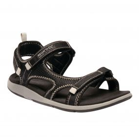 Women's Ad-Flo Sandals Black Light Steel