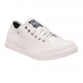 Women's Turnpike Lite Lightweight Canvas Shoes White Navy