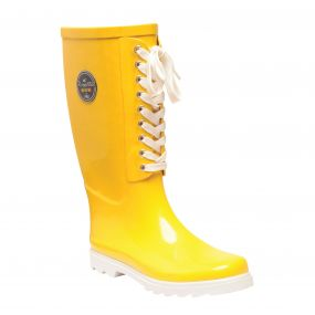 Women's Bayeux II Mid Calf Wellington Boots Lifeguard White