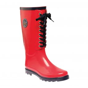 Women's Bayeux II Mid Calf Wellington Boots Lollipop Navy