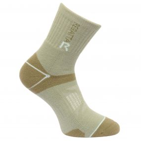 Women's Two Layer Blister Protection Socks Seagrass Yucca