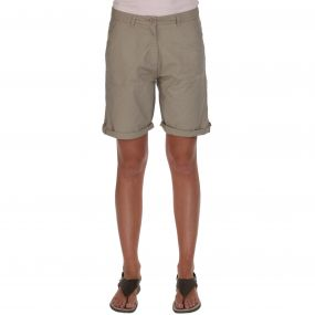 Sail Away Shorts Parchment