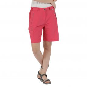 Chaska Lightweight Multi Pocket Shorts Bright Blush