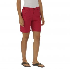 Chaska Short Dark Cerise