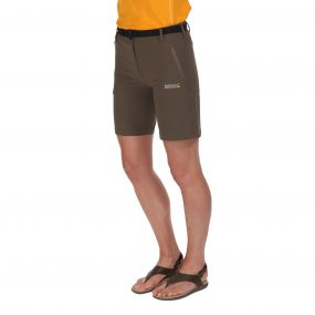 Womens Xert Stretch Shorts II Roasted