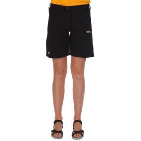 Womens Xert Stretch Shorts II Black