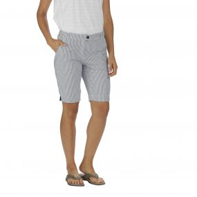 Sophillia Shorts Ticking Stripe