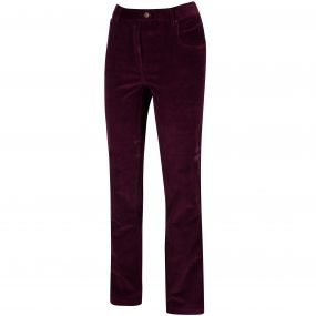 Dariela Cotton Corduroy Trousers Fig