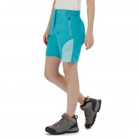 Sungari Lightweight Multi Pocketed Shorts Aqua Horizon