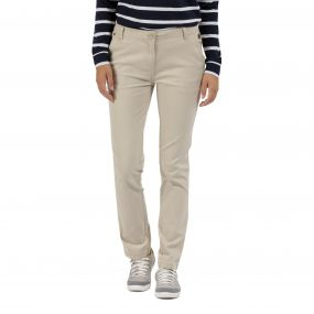 Querina Coolweave Chino Warm Beige