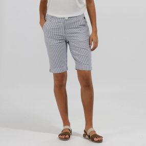 SophiIIa II Coolweave Cotton Shorts Ticking Stripe