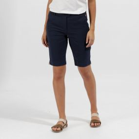 Sophilla II Coolweave Cotton Shorts Navy
