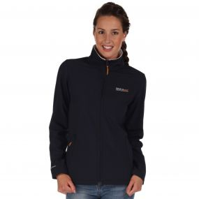 Connie III Funnel Neck Softshell Jacket Navy Polar Bear