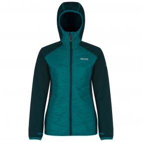 Womens Andreson II Jacket Deep Teal