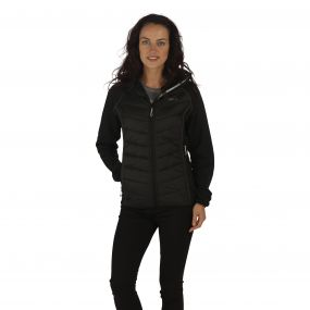 Women's Andreson II Hybrid Stretch Lightweight Insulated Jacket Black