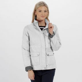 Camryn Quilted Jacket Light Vanilla