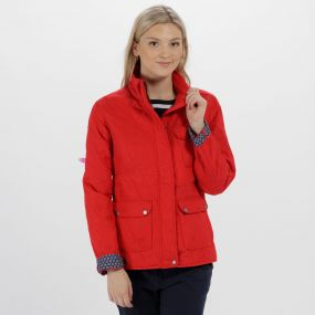 Camryn Quilted Jacket Lollipop
