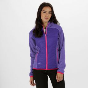 Women's Andreson III Hybrid Stretch Lightweight Insulated Jacket Elderberry