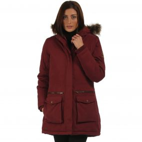 Snowstar Parka Jacket Spiced Mulberry