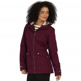 Brienna Waterproof Insulated Hooded Jacket Fig