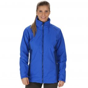 Premilla Waterproof 3-in-1 Jacket Dazzling Blue Twilight