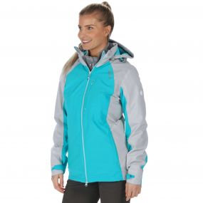 Carletta II Waterproof 3-in-1 Jacket Aqua