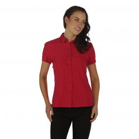 Women's Kioga Shirt Dark Cerise