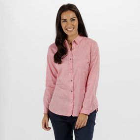 Meena Coolweave Cotton Shirt Desert Rose