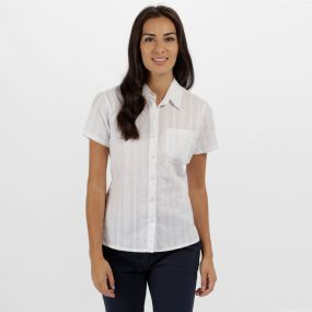 Jerbra II Coolweave Cotton Shirt White