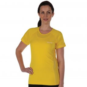 Presley T-Shirt Bright Yellow