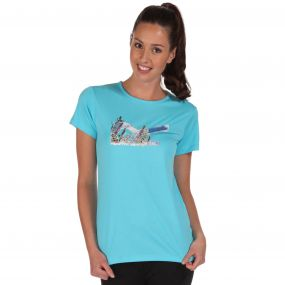 Womens Fingal T-Shirt Atoll Blue