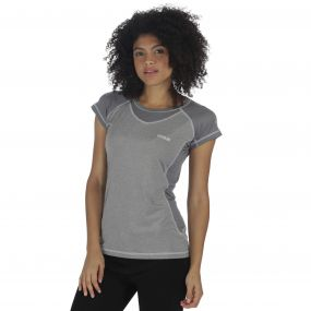 Women's Breakbar III T-Shirt Rock Grey