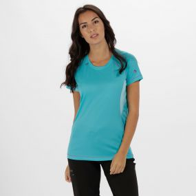 Women's Volito II Ultra Lightweight T-Shirt Aqua Horizon