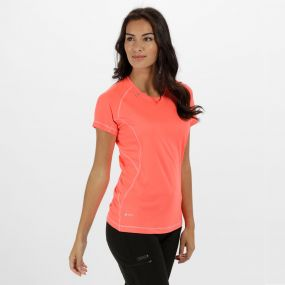 Women's Volito II Ultra Lightweight T-Shirt Fiery Coral