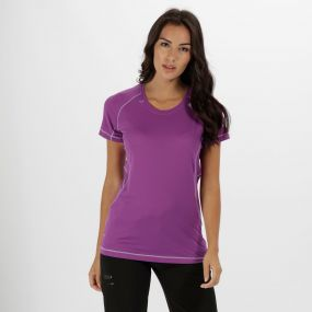 Women's Volito II Ultra Lightweight T-Shirt Ultra Purple