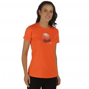 Women's Fingal II T-Shirt Pumpkin
