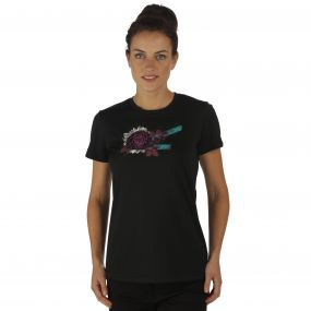 Women's Fingal II T-Shirt Black