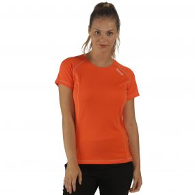 Women's Virda T-Shirt Pumpkin
