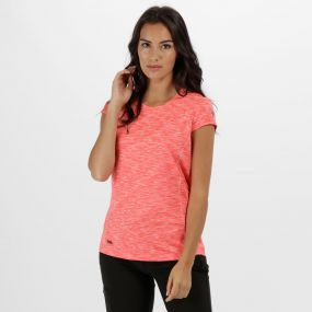 Women's Hyperdimension Quick Dry T-Shirt Fiery Coral