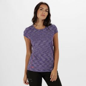 Women's Hyperdimension Quick Dry T-Shirt Elderberry