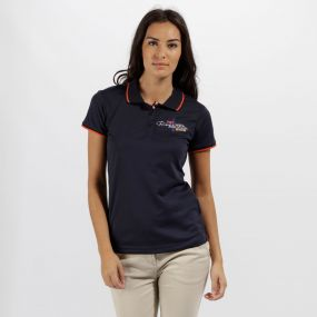 Fawna Quick Dry Polo Shirt Navy