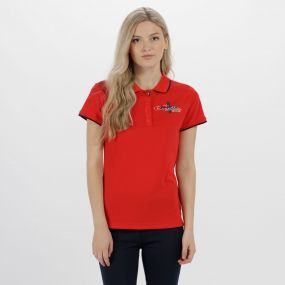 Fawna Quick Dry Polo Shirt Lollipop
