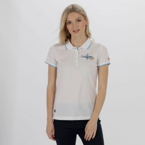Fawna Quick Dry Polo Shirt White