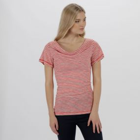 Francheska Coolweave Hybrid T-Shirt Lollipop Stripe