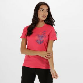 Women's Fingal III Quick Dry T-Shirt Bright Blush