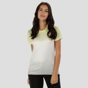 Women's Fingal III Quick Dry T-Shirt Lime Fizz Ombre